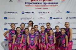 """Формейшн"" девушки StarLight и тренер Юлия Митяева"